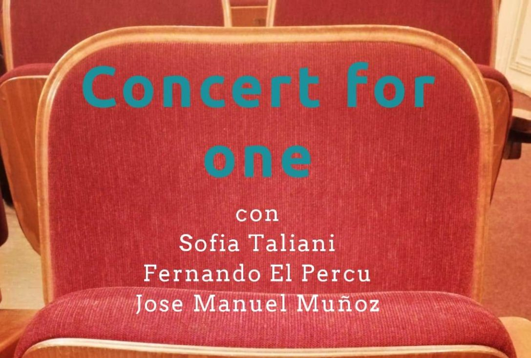 'Concert for one', de la mano de Sofia Taliani