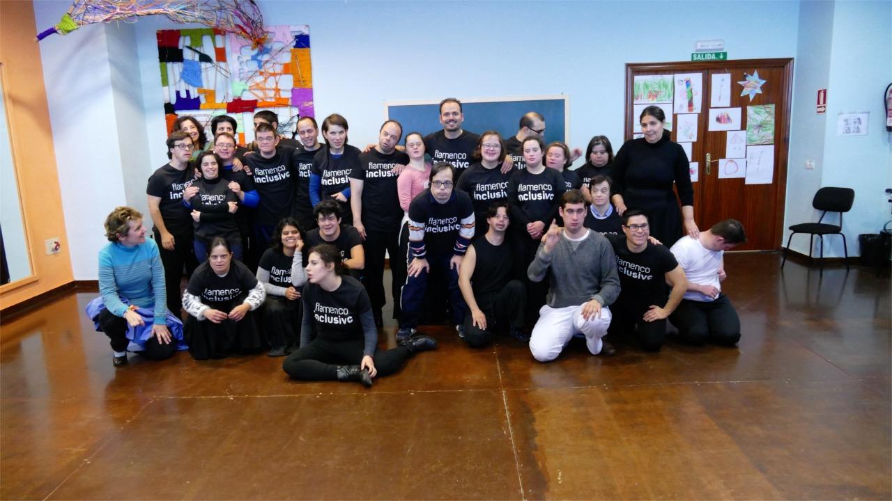 Casi 200 personas han participado en el Taller de Flamenco inclusivo impartido por José Galán