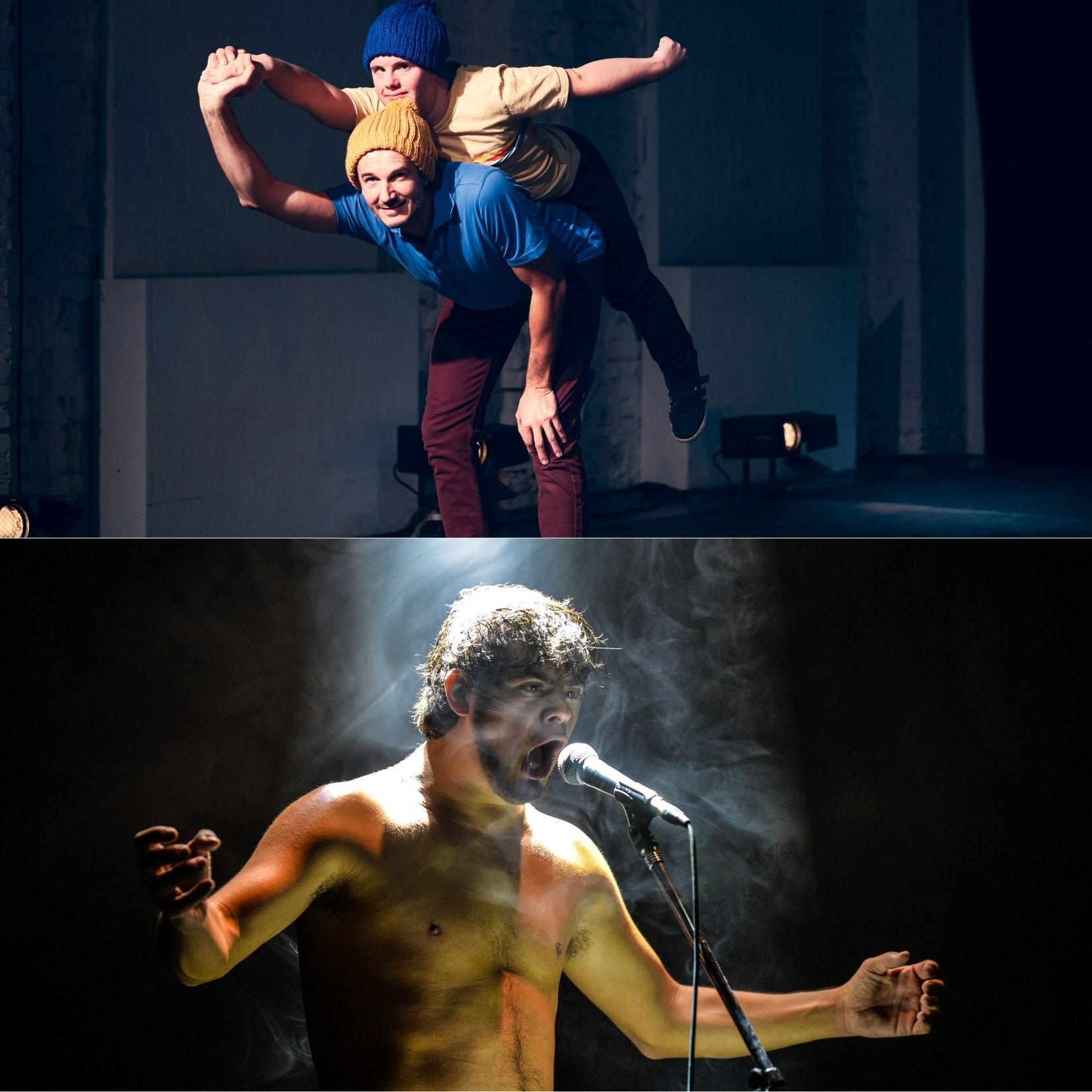 La Compañía Danza Mobile realizó una gira por Suiza con dos espectáculos de danza