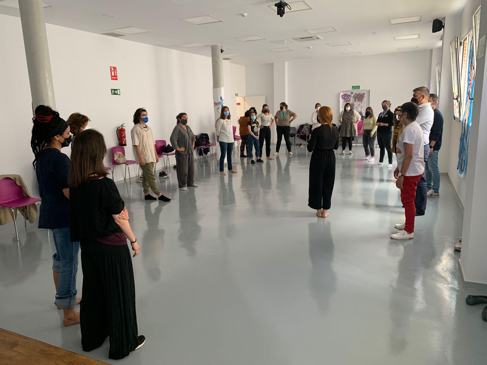 Danza Mobile, en un Curso de Verano de la Universidad de Cantabria